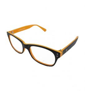 LA Cool LA9066 C4 Orange Eye Glasses