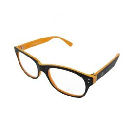 LA Cool LA9066 C4 Orange Eye Glasses