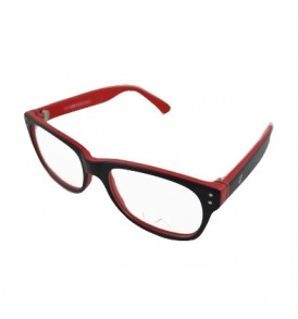 LA Cool LA9066 C1 Red Eye Glasses