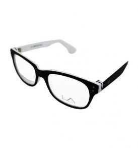 LA Cool LA9066 C2 White Eye Glasses