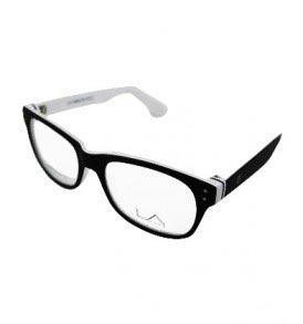 LA Cool LA9066 C2 White Eye Glasses