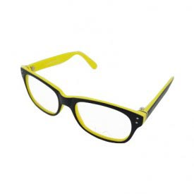 LA Cool LA9066 C3 Yellow Eye Glasses